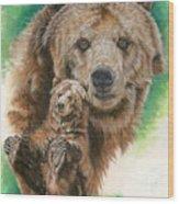 Brawny Wood Print