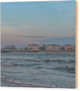 Breach Inlet Water Scape Wood Print