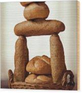 Bread Tower Wood Print