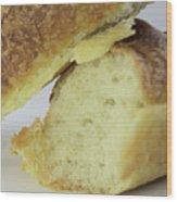 Break Bread Wood Print