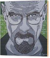 Breaking Bad, Walter White Wood Print