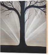 Breaking Dawn Wood Print