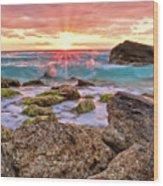 Breaking Dawn Wood Print by Marcia Colelli