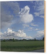 Breaking Storm Over The Willamette Valley 170522-170551 Wood Print