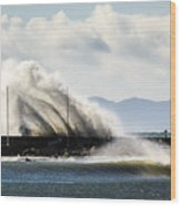 Breakwater Wood Print