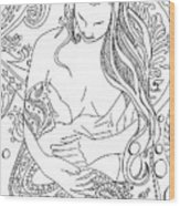 Breastfeeding Is Beautiful Wood Print