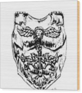 Breastplate Of Righteousness Wood Print