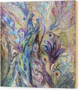 Breath Of Breeze Wood Print by Elena Kotliarker