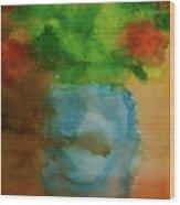 Breathing In Color Wood Print