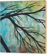 Breathless 2 By Madart Wood Print