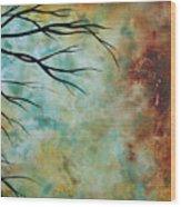 Breathless 3 By Madart Wood Print