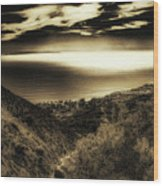 Breathless View Wood Print