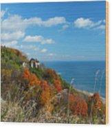 Breathtaking Bluffs _ Scarborough Bluffs Wood Print