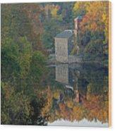 Breck's Mill Wood Print