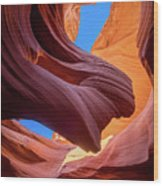Breeze Of Sandstone Wood Print
