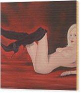 Brenda Wood Print by Pieter Heelz