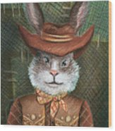 Brer Rabbit Wood Print