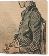 Bretonne Assise Wood Print
