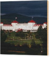 Bretton Woods Wood Print