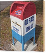 Brevard Veterans Memorial Center On Merritt Island Florida Wood Print