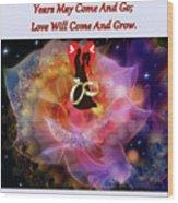 Brian Exton Night Flowers  Bigstock 164301632  231488 Wood Print