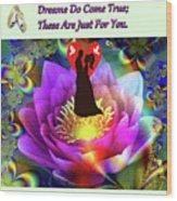 Brian Exton Sacred Flower Of Love  Bigstock 164301632  2991949  12779828 Wood Print