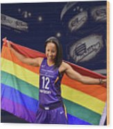 Briann January Lgbt Pride 2 Wood Print