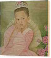 Brianna - The Princess Wood Print
