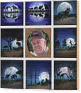 Brian's Collage 2 Wood Print