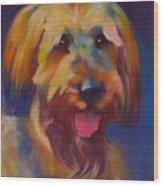 Briard Puppy Wood Print