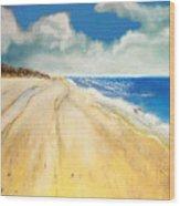 Bribie Island Wood Print