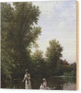 Bricher Boating In The Afternoon Wood Print