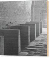 Brick And Stone Wood Print