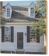 Brick House Tavern Shop Wood Print
