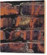 Bricks And Graffiti Wood Print by Tim Good