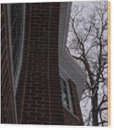 Bricks And Windows Wood Print