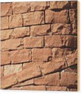 Bricks Spiraling Wood Print