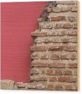 Bricks, Stones, Mortar And Walls - 3 Wood Print