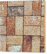 Brickwork#2 Wood Print