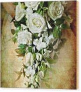 Bridal Bouquet Wood Print by Meirion Matthias