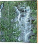 Bridal Vail Falls Wood Print