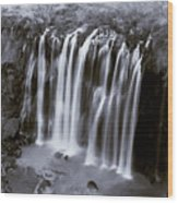 Bridal Veil Falls - Havasu Canyon Arizona C. 1900 Wood Print