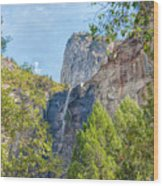 Bridalveil Fall Wood Print