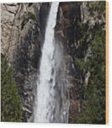 Bridalveil Fall Yosemite Valley Wood Print