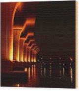 Bridge 1 Wood Print