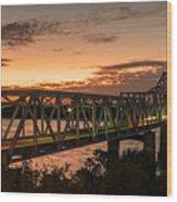 Bridge 8 Wood Print