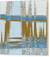 Bridge Abstract Wood Print