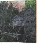 Bridge At Bontuchel Wood Print