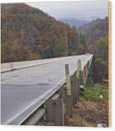 Bridge At Butler Wood Print