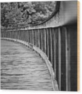 Bridge At Calloway II Wood Print